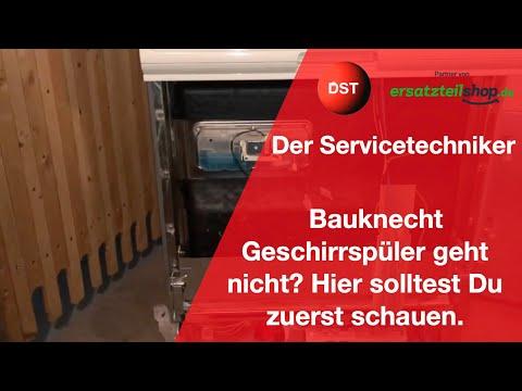 Bauknecht Whirlpool Spülmaschine läuft nicht