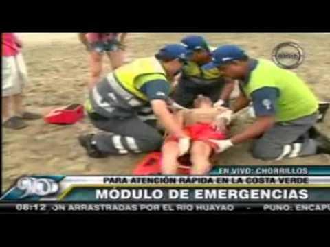 SISOL BRINDA ATENCIÓN MÉDICA GRATUITA A VERANEANTES DE LA COSTA VERDE 24-01-2014