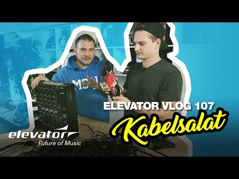 Midi, Klinke, XLR, Cinch - Kabel - Tutorial (Elevator Vlog 107 deutsch)