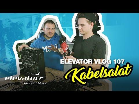 Midi, Klinke, XLR, Cinch - Kabel - Tutorial (Elevator Vlog 107 deutsch)