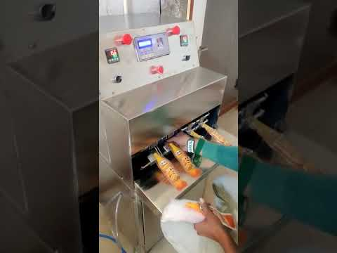 Bottle Shape Pouch Packing Machine
