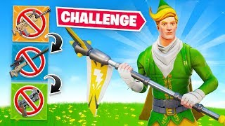 Fortnite Gun Game With *NO* Gun! (Pickaxe Only)