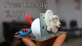 Bakır Tel İle Sınırsız Elektirik Üretimi | FREE ENERGY