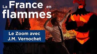 La France En Flammes - Le Zoom - J.M. Vernochet - TVL