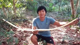 How To Make Bamboo Bow (Traditional)