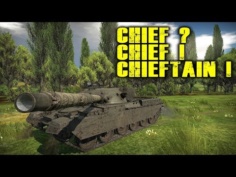 War Thunder - Chief? Chief! Chieftain! Powerful Chieftain Mk 3 in Realistic Battle
