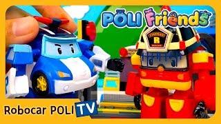 Let's Run Togerther   POLI Friends   Robocar POLI