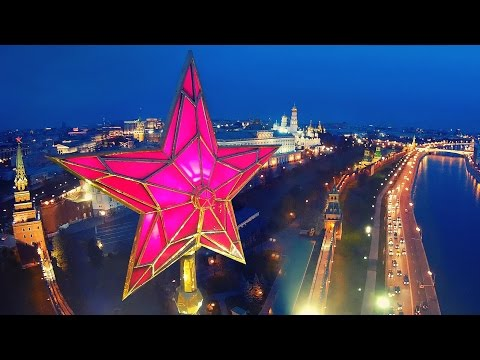 Best of Moscow: Aerial Drone flights