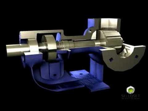 3D Animation Sello Mecánico. SELLOSET LTDA