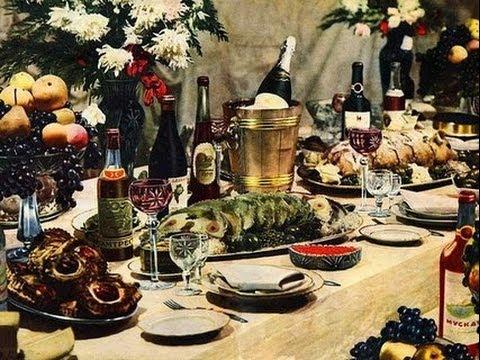 Новогоднее обжорство. Хроники московского быта