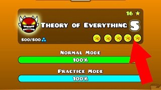 "😲 ""THEORY OF EVERYTHING 5"" BY YELLOWKIRBI233 [LAYOUT] (NO-CLIP & StartPos)"