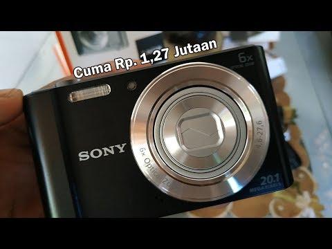 Review Kamera Sony Cyber-shot DSC-W810 | Youtuber Pemula