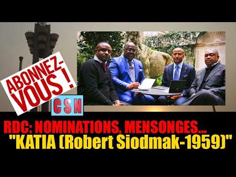 RDC: NOMINATIONS, FLATTERIES, MENSONGES...