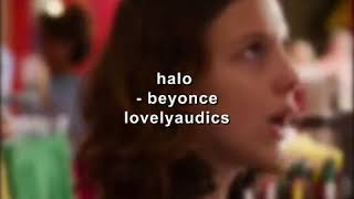 Halo ~ beyonce audio