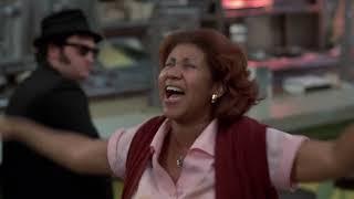 Aretha Franklin Blues Brothers Scene