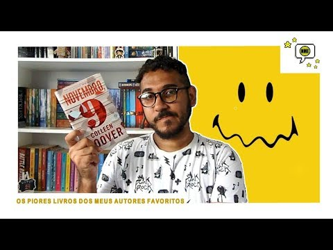 Os PIORES livros dos meus autores FAVORITOS | Na Minha Estante