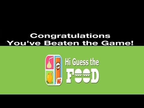 Hi Guess The Food - All Level Answers 1 - 203
