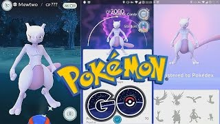 Has MEWTWO Finally Been Caught in POKEMON GO!? You Decide