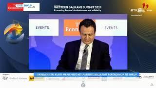 Kryeministri Kurti merr pjesë në Samitin e Ballkanit Perëndimor në Shkup 14.10.2021