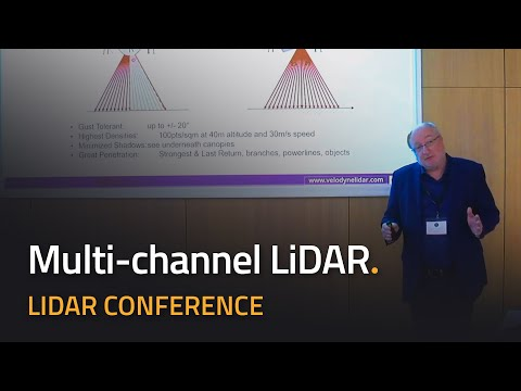 Multi-channel 3D LiDAR scanner technologies by Velodyne