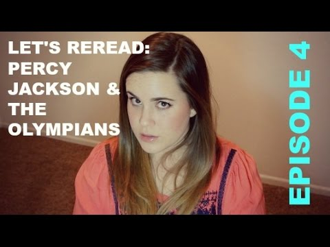 LET'S REREAD: PERCY JACKSON & THE OLYMPIANS EPISODE 4
