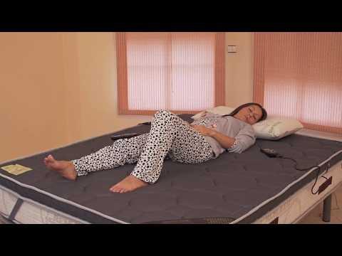 ECO-DE® Surmatelas de massage deluxe 3D