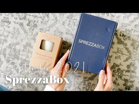 SprezzaBox Unboxing September 2021
