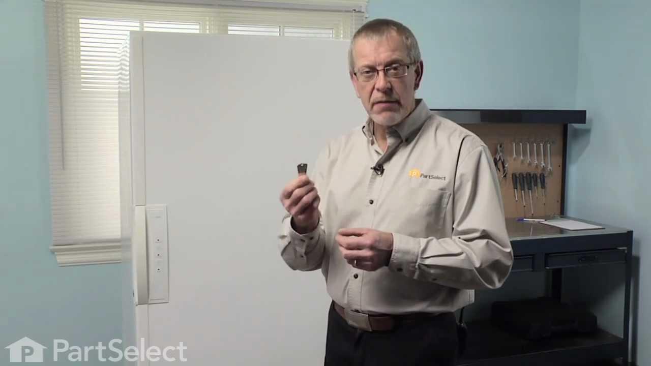 Replacing your Frigidaire Freezer Freezer Door Key