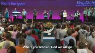 Awesome Is The Lord Most High (Great Are You Lord) - Kingsgate Community Church Live on BBC1.