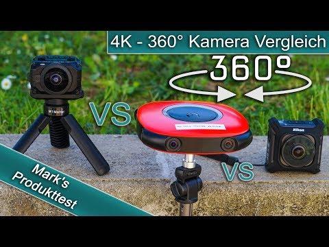 4K - 360° Kamera Vergleich / Welche Stärken und Schwächen haben sie?