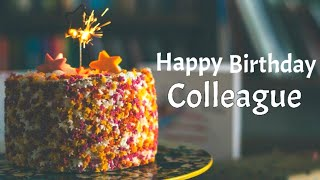 Happy birthday greetings for Colleague or coworker | Best birthday wishes & messages for colleague