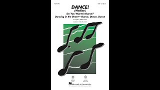 DANCE! (Medley) (SAB)   Arranged By Kirby Shaw