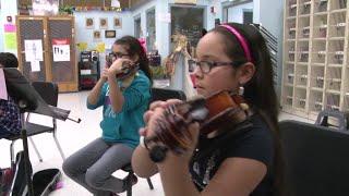 MEF Violin Program at Alonso De Leon MS - McAllen ISD
