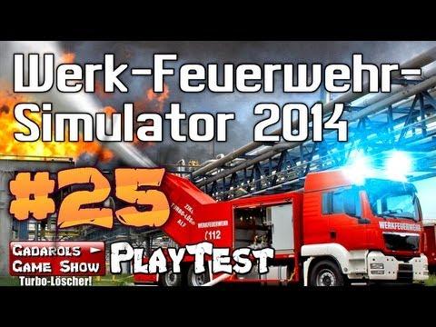 Werk Feuerwehr Simulator 2014 #25 Der steile Weg zum Turbolöscher Let´s Play deutsch HD