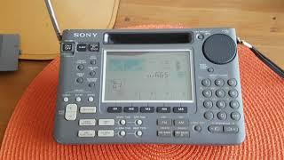 Sony World Band Receiver ICF-SW55