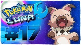 Rockruff  - (Pokémon) - POKEMON LUNA - EPISODIO 17   ROCKRUFF Y LOS POKÉMON RAROS DE MELEMELE   GUÍA EN ESPAÑOL
