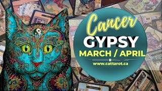 💞 CANCER MARCH-APRIL 2018 ***GYPSY ORACLE FORECAST***