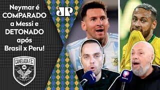 'O Neymar fica de mimimi, já o Messi…'; veja debate