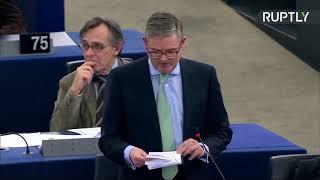 Пленарная сессия Европарламента. Дебаты: Россия - влияние пропаганды на ЕС