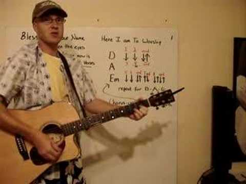 Worship Song Slow Strum Here I Am To Worship Mike Smith Mp3