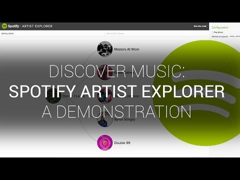 Spotify Artist Explorer