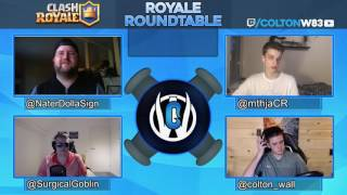 Clash Royale | State of the Game and Tournament Experiences | Royale Roundtable