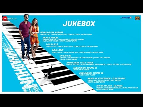 AndhaDhun - Full Movie Audio Jukebox   Ayushmann K