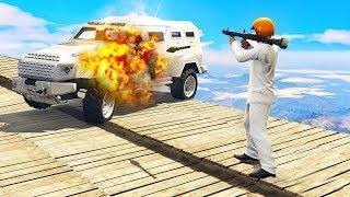 HEAVY ARMOURED CARS vs. RPGS! (GTA 5 Minigames)