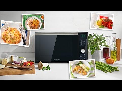 Panasonic Grill-Kombi Inverter Mikrowelle NN-DF383 - Produktvorstellung