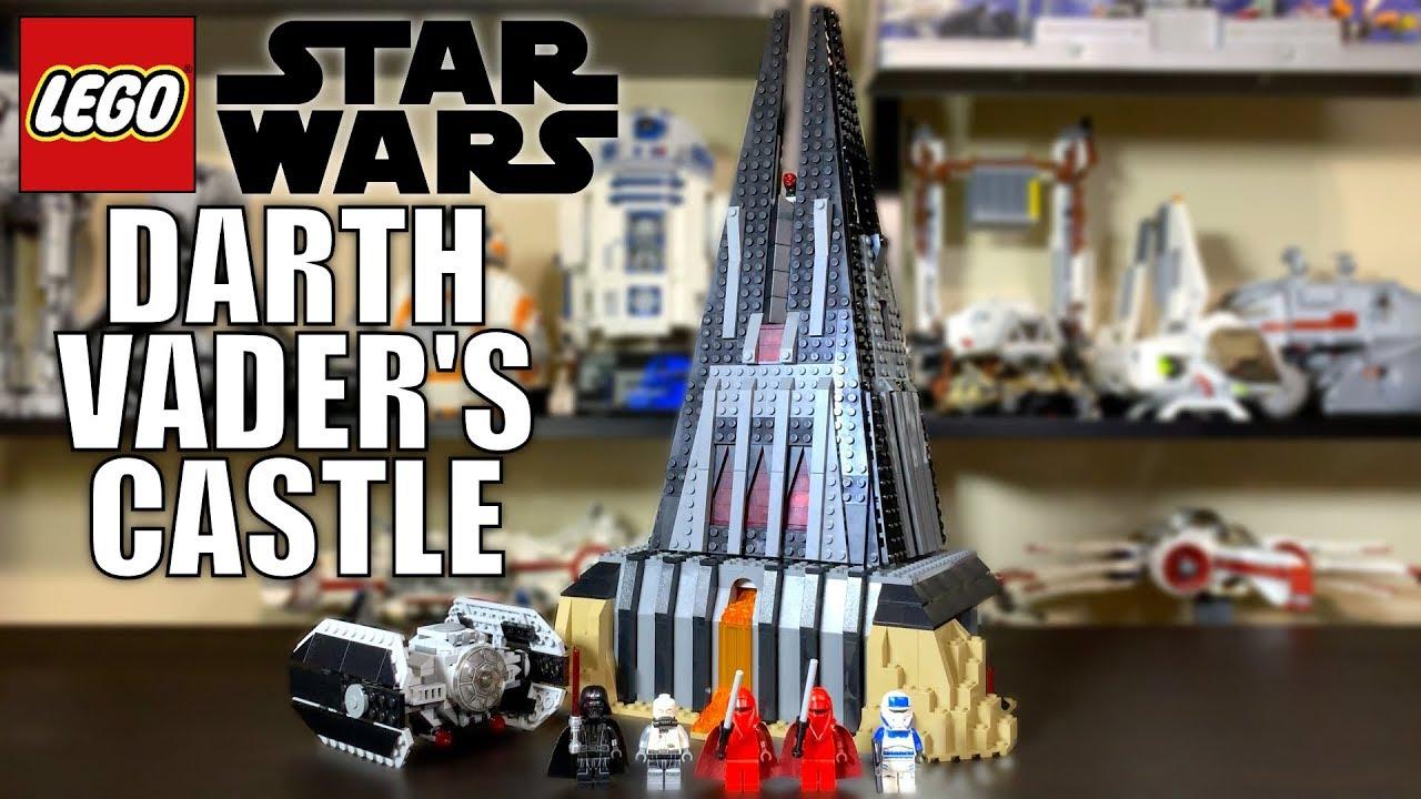 LEGO Star Wars 2019 Darth Vader's Castle Review! Set 75251!