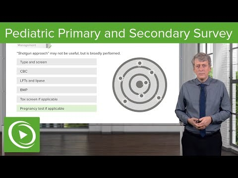 Pediatric Primary And Secondary Survey – Pediatrics | Lecturio