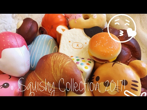 Squishies:  Squishy Collection 2017! ✨ |  Lps Kitkat ♡