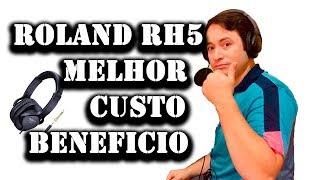 Roland RH5 (Monitor Headphones) - Fone melhor custo beneficio para Edição e Teclado