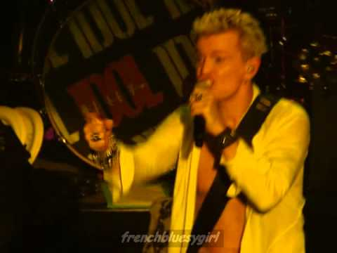 Billy Idol - L A Woman (Brussels Woman) The Doors cover - Live Bruxelles - 19/11/2014